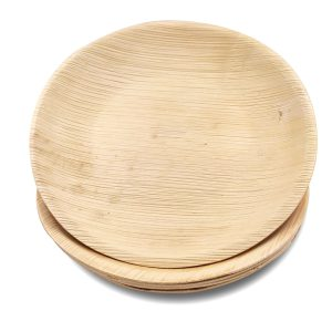 Dtocs Round Palm Leaf Plate