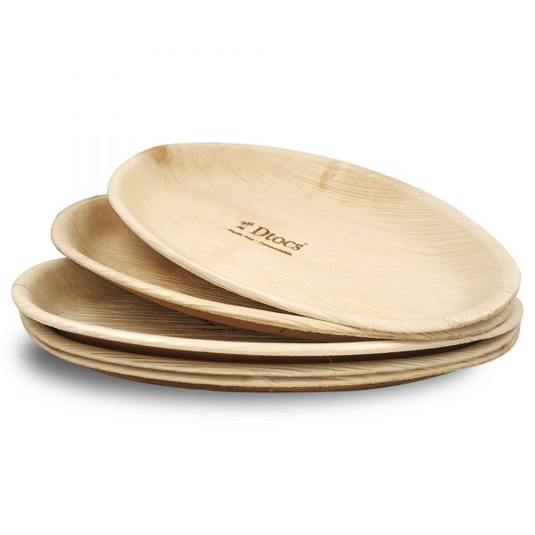 Dtocs Palm Leaf Plate