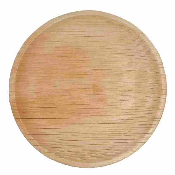 Dtocs Palm Leaf Round Dinner Plates