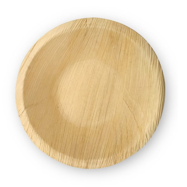 Dtocs Palm Leaf Round Bowl - 5 Inch
