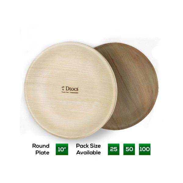 Dtocs 10 inch Round Plate