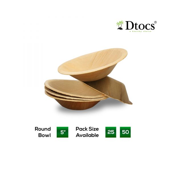 Dtocs Disposable Round Bowl