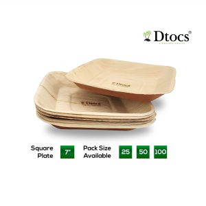 Dtocs 7 Inch Square Plate